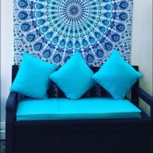 Urban Outfitters Boho, Mandala Tapestry.